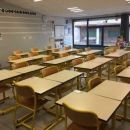 La classe est prête.