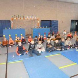 Rencontre sportive en athlétisme chez les CP